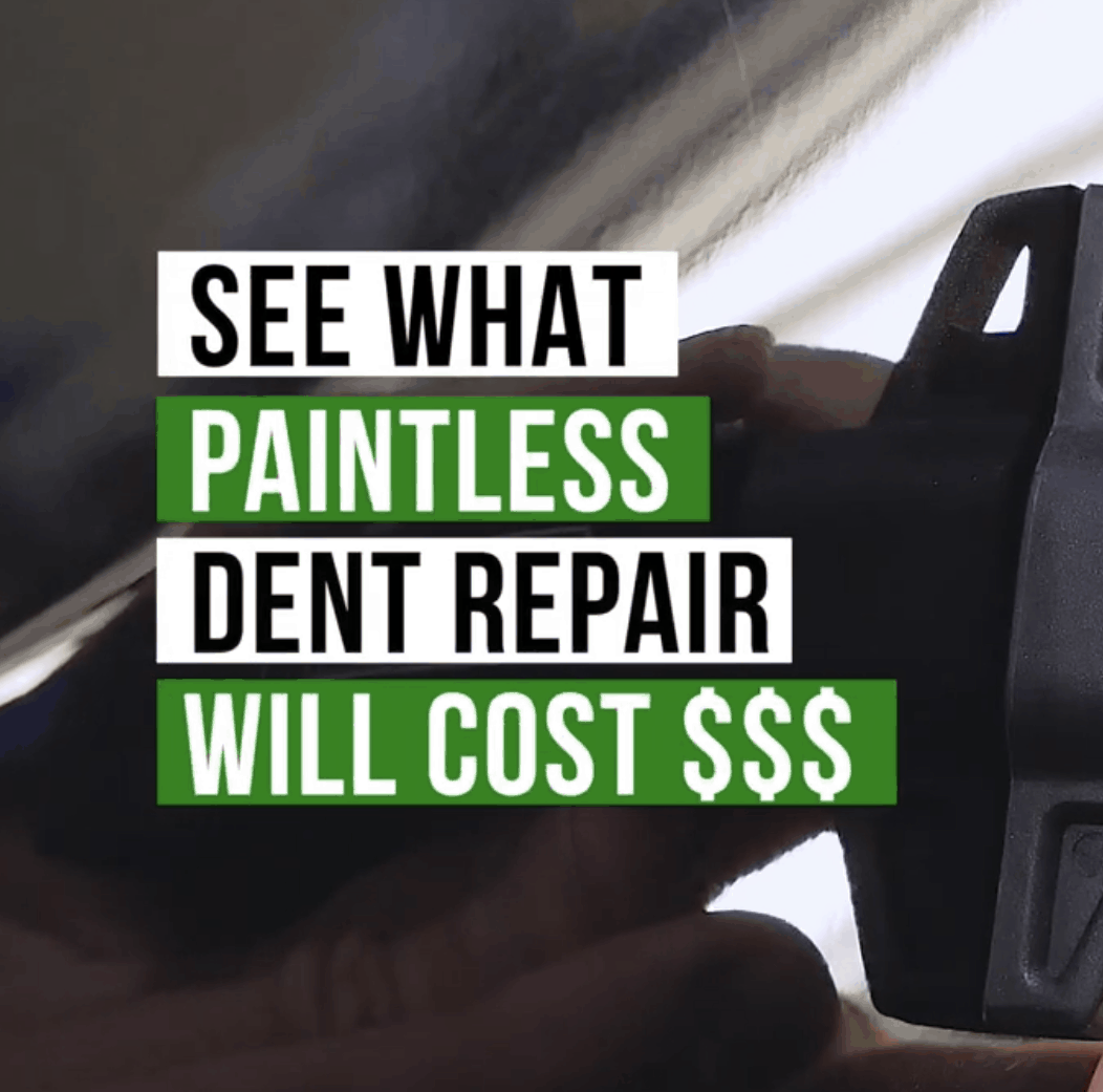 see what paintless dent repair cost